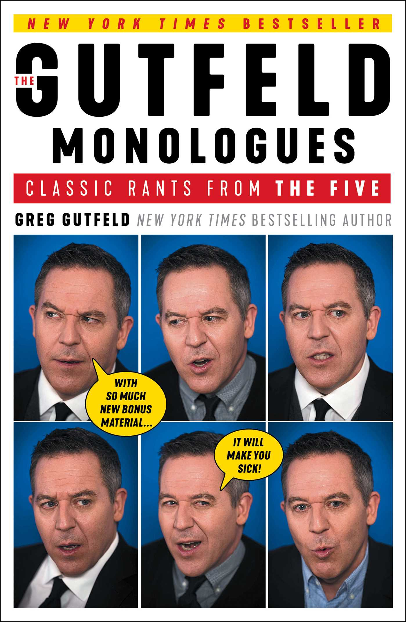 The gutfeld monologues 9781501190728 hr