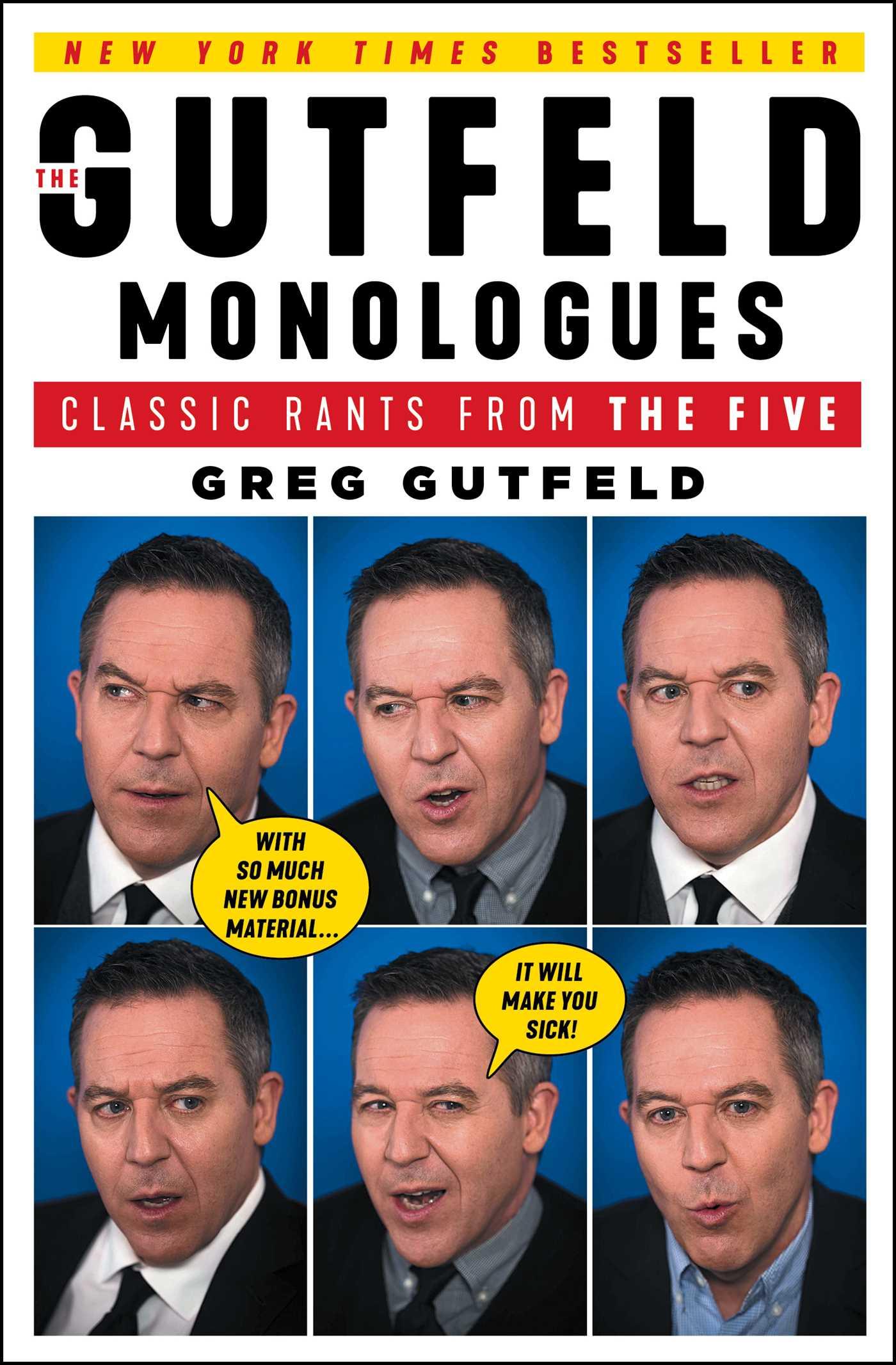 The Gutfeld Monologues | Book by Greg Gutfeld | Official