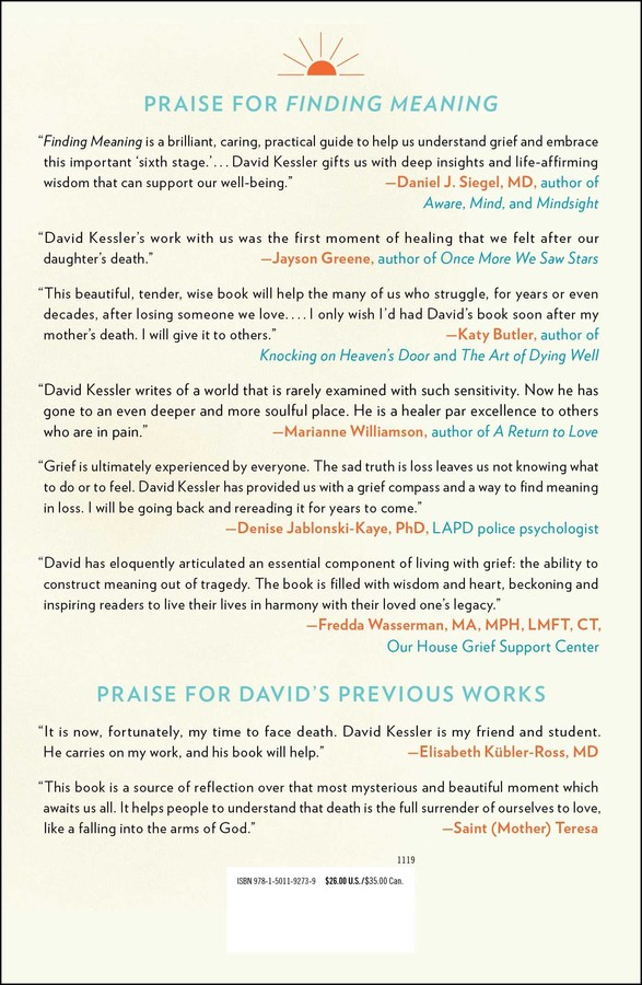Finding Meaning | Book by David Kessler | Official Publisher