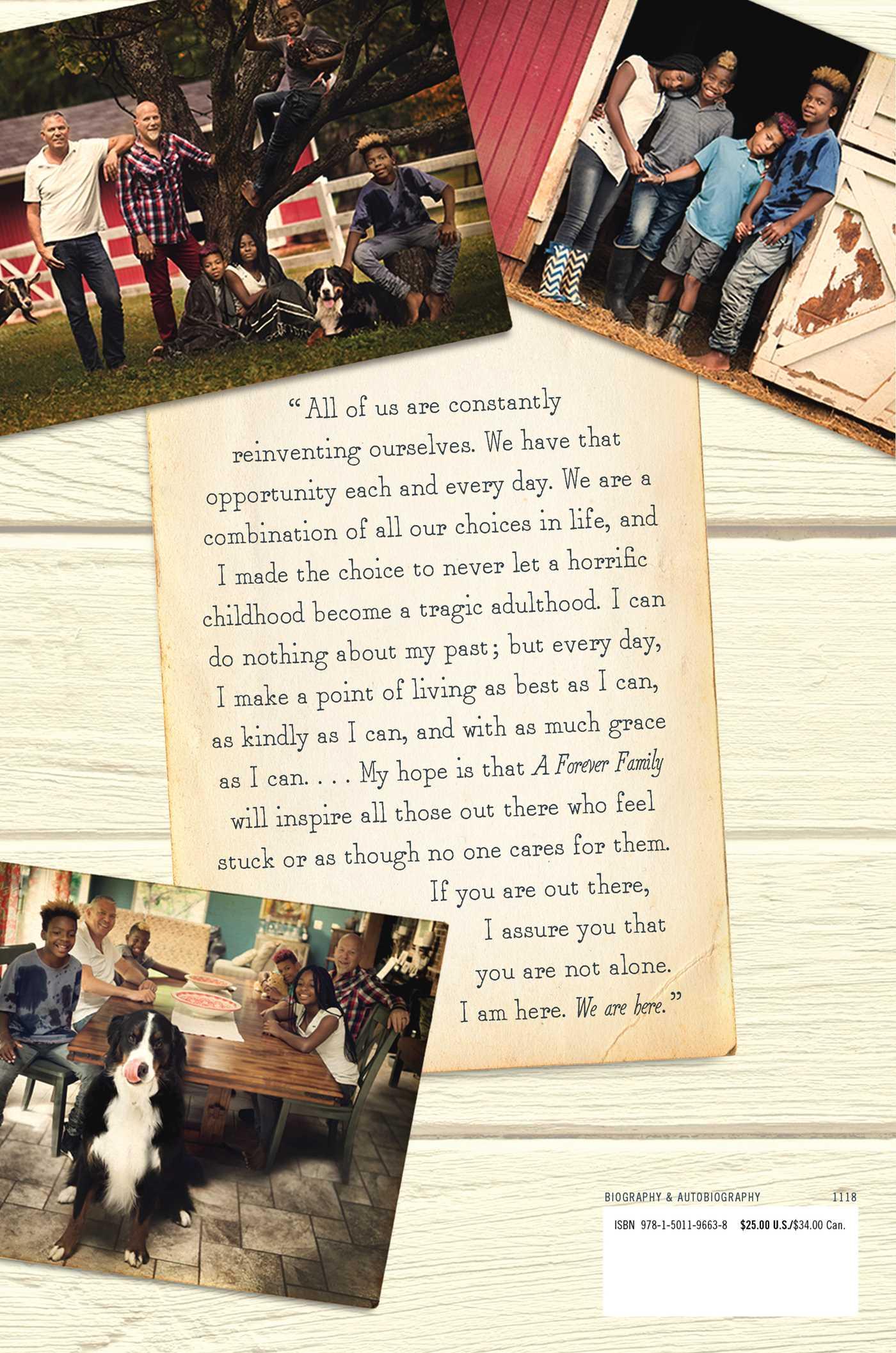 A forever family 9781501196638 hr back