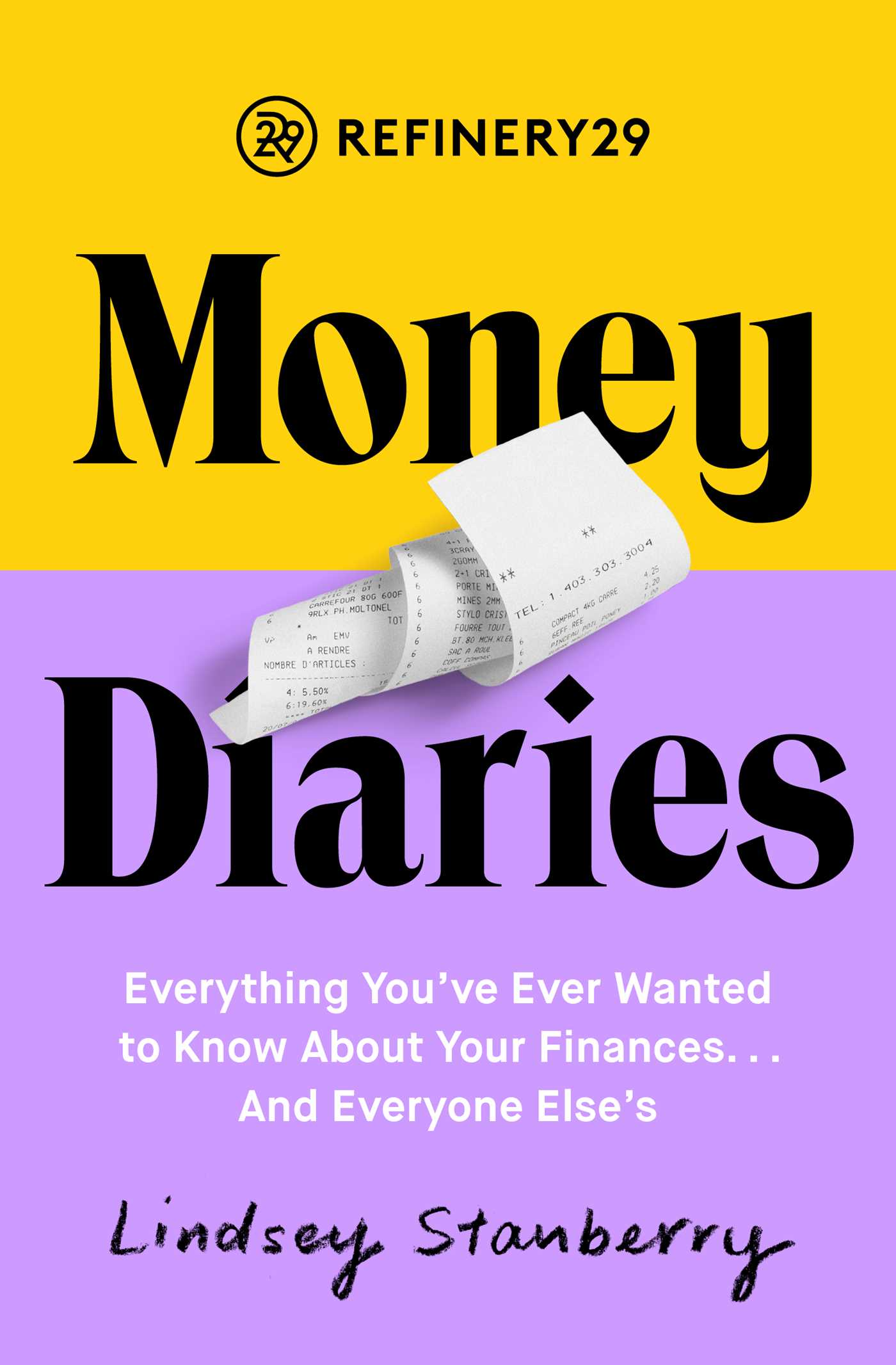 Refinery29 money diaries 9781501197994 hr