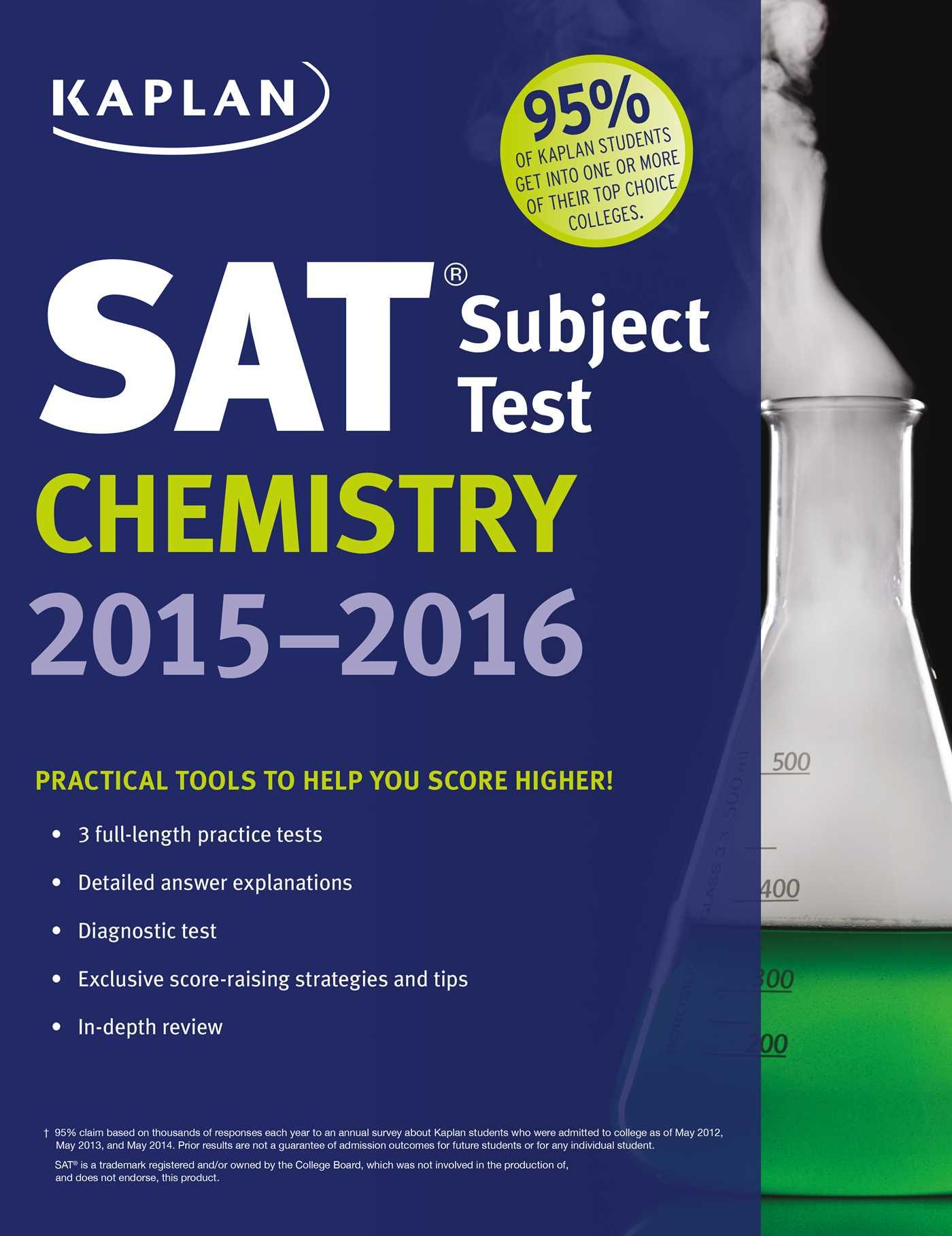 Kaplan SAT Subject Test Chemistry 2015-2016 eBook by Kaplan