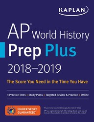 AP World History Prep Plus 2018-2019