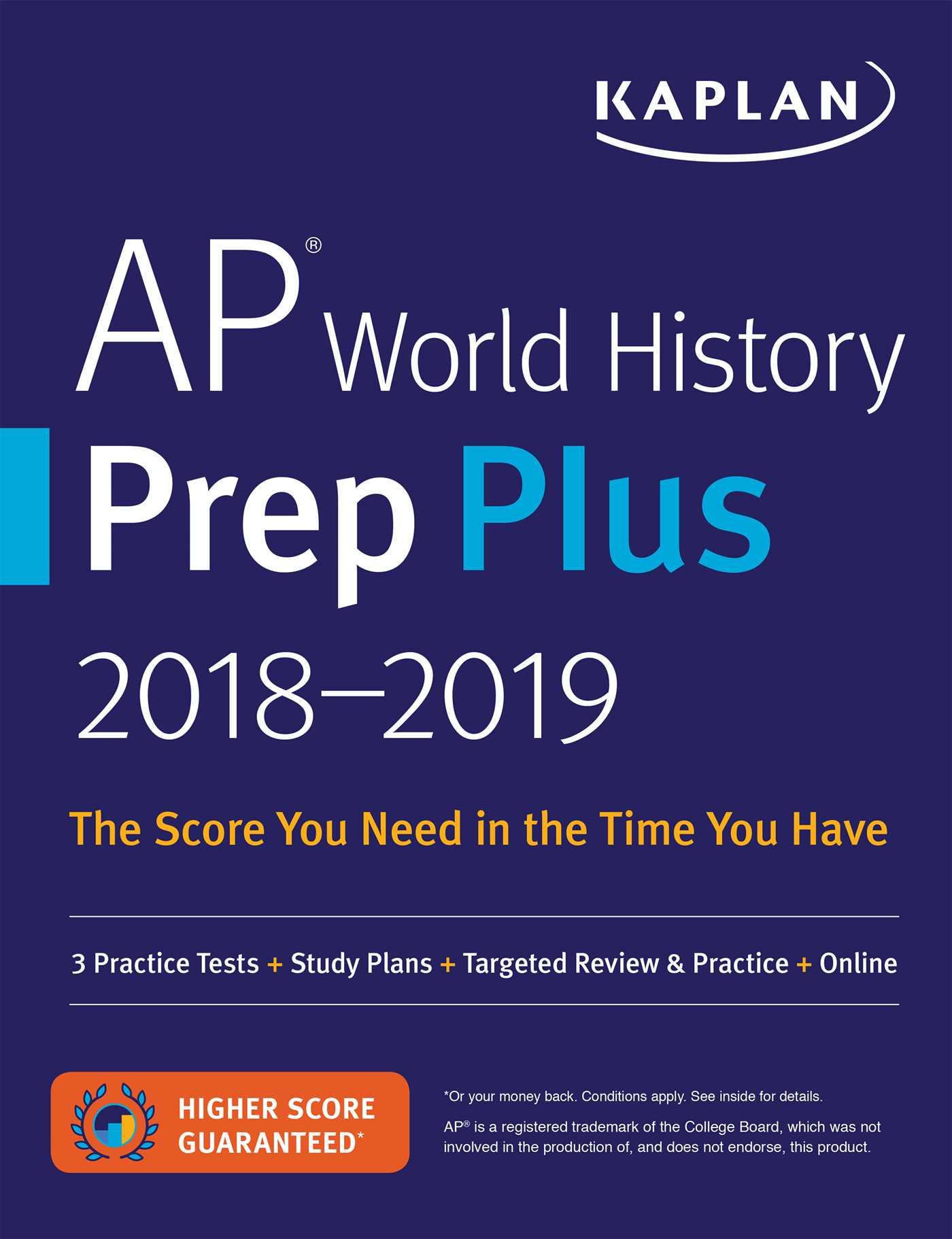Ap world history prep plus 2018 2019 9781506203379 hr