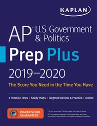 AP U.S. Government & Politics Prep Plus 2019-2020