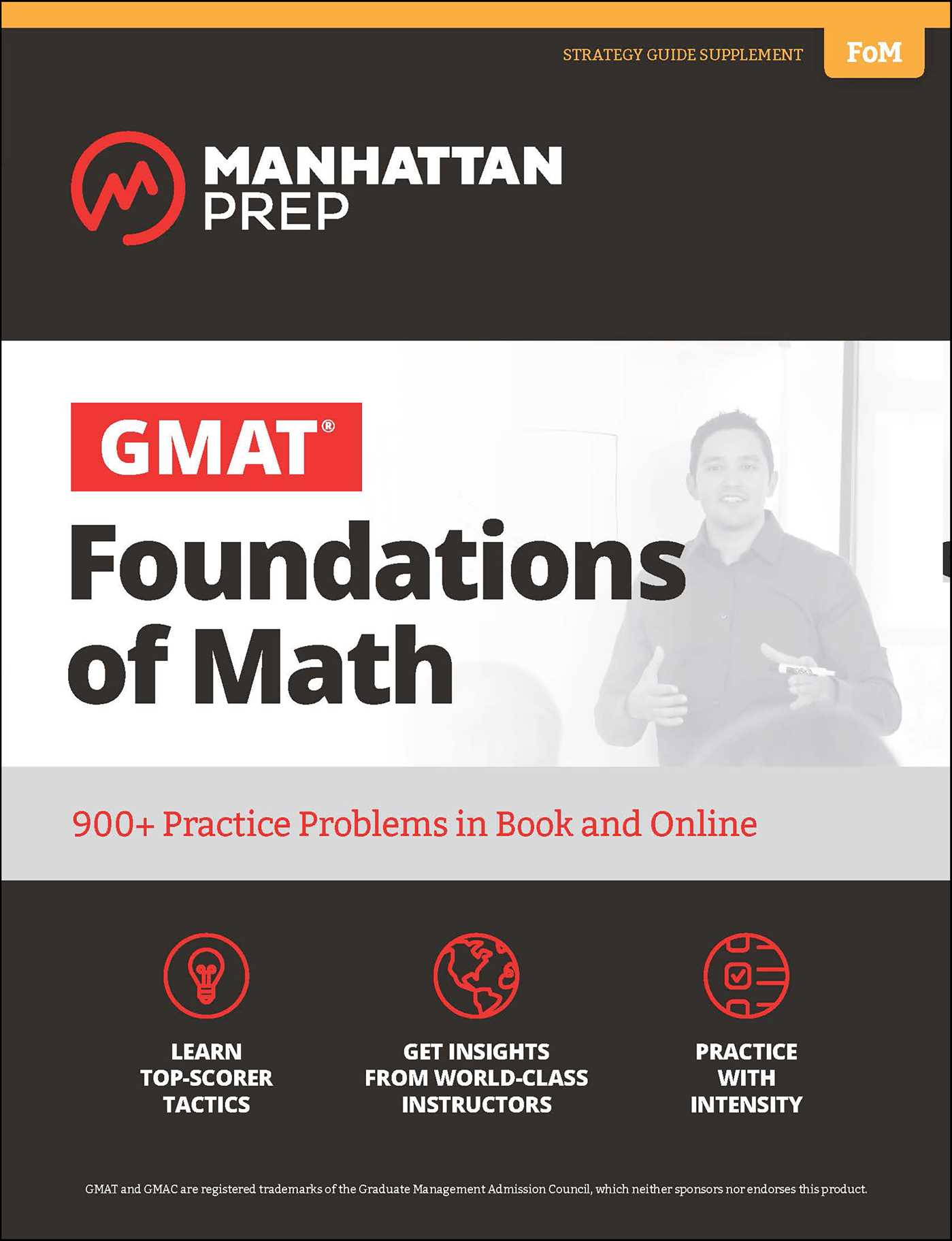 GMAT Foundations of Math | Book by Manhattan Prep | Official ...