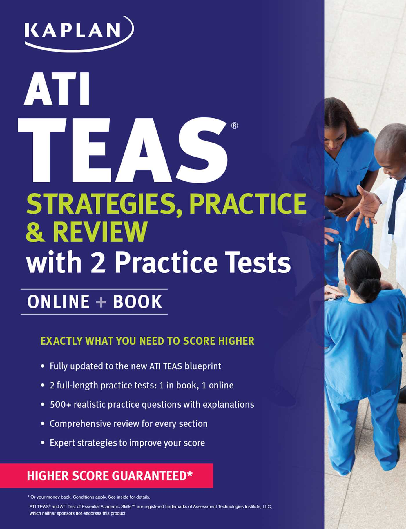 Ati teas strategies practice review with 2 practice tests book ati teas strategies practice review with 2 practice tests 9781506211152 hr malvernweather Image collections