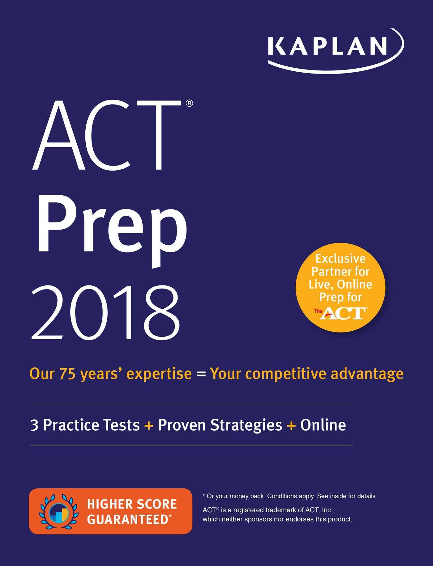 Best ACT Prep Courses 2018: Quick Review & Comparison