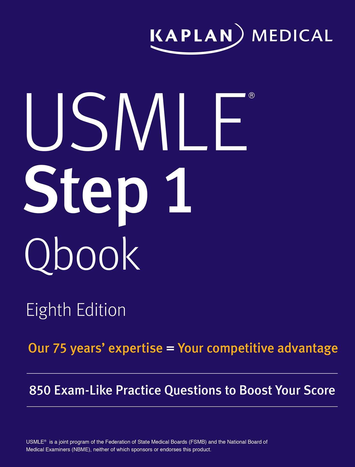 USMLE Step 1 Qbook | Book by Kaplan Medical | Official Publisher ...