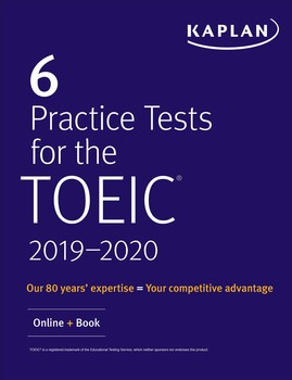 6 Practice Tests for TOEIC Listening and Reading