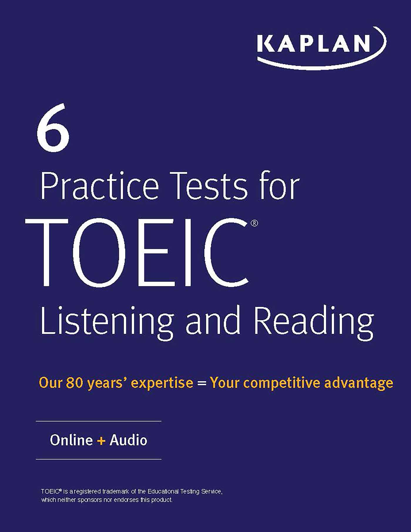 6 Practice Tests for TOEIC Listening and Reading | Book by