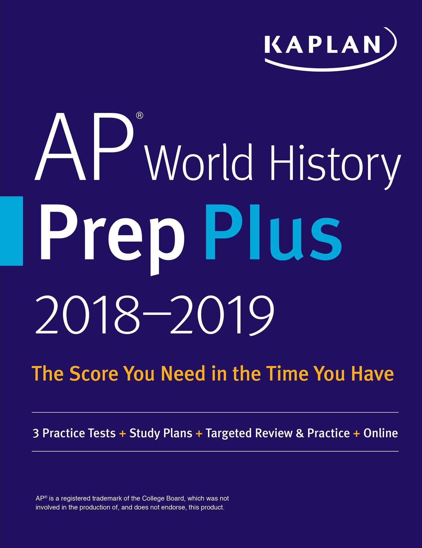 Ap world history prep plus 2018 2019 9781506225579 hr