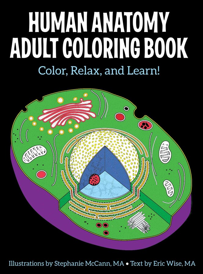Human Anatomy Adult Coloring Book Book By Stephanie McCann, Eric Wise  Official Publisher Page Simon & Schuster