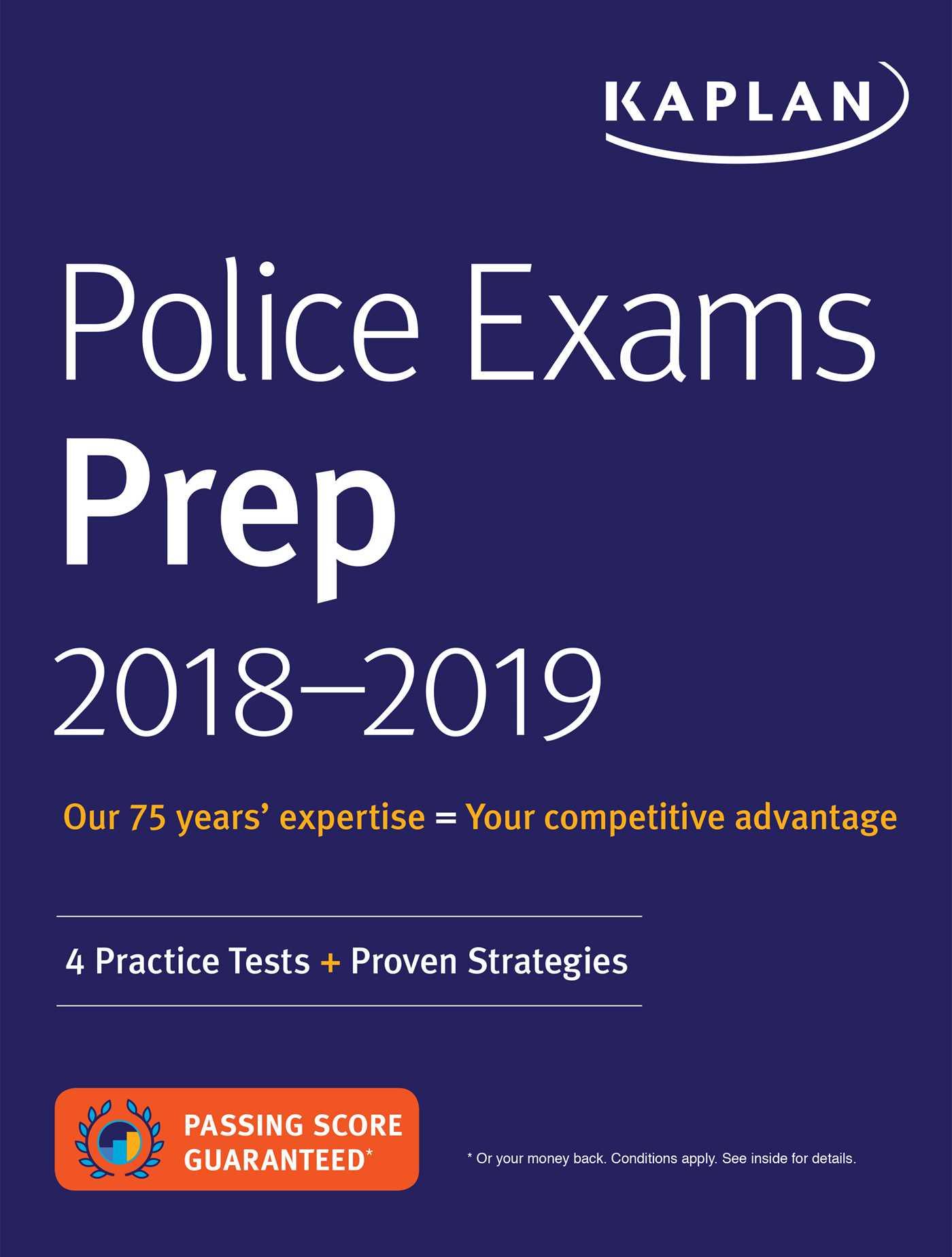 Book Cover Image (jpg): Police Exams Prep 2018-2019