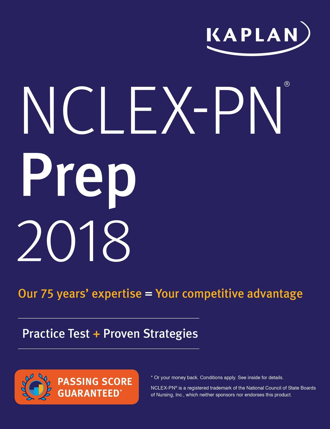 Book Cover Image (jpg): NCLEX-PN Prep 2018