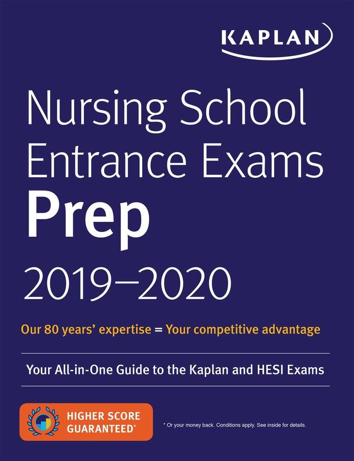 Nursing School Entrance Exams Prep 2019 2020 Book By