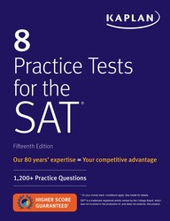Simon schuster kaplan test prep new releases 8 practice tests for the sat fandeluxe Image collections