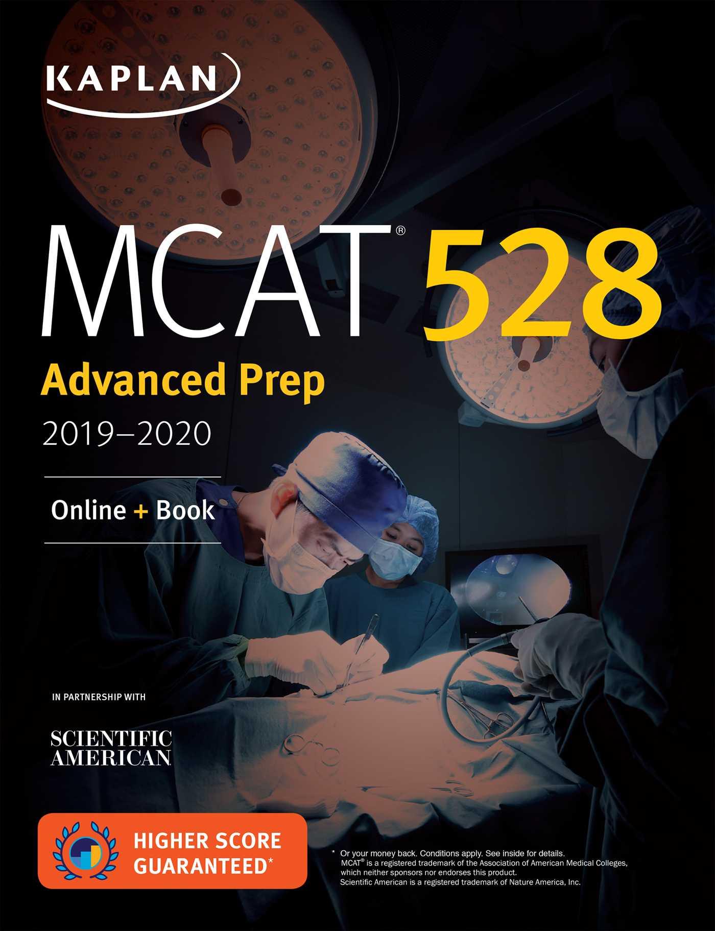 Mcat 528 Advanced Prep 2019 2020 9781506235325 Hr
