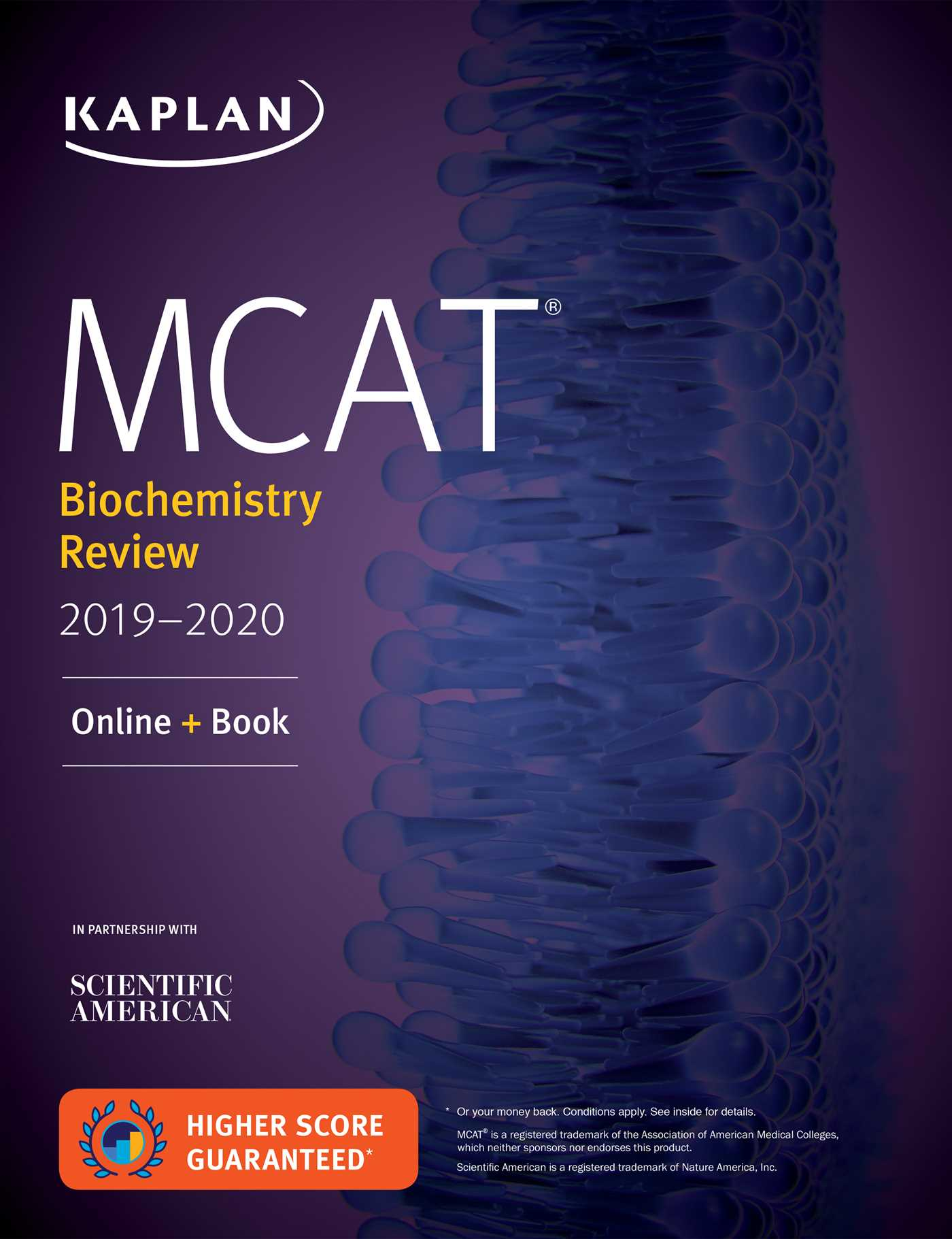Book Cover Image (jpg): MCAT Biochemistry Review 2019-2020