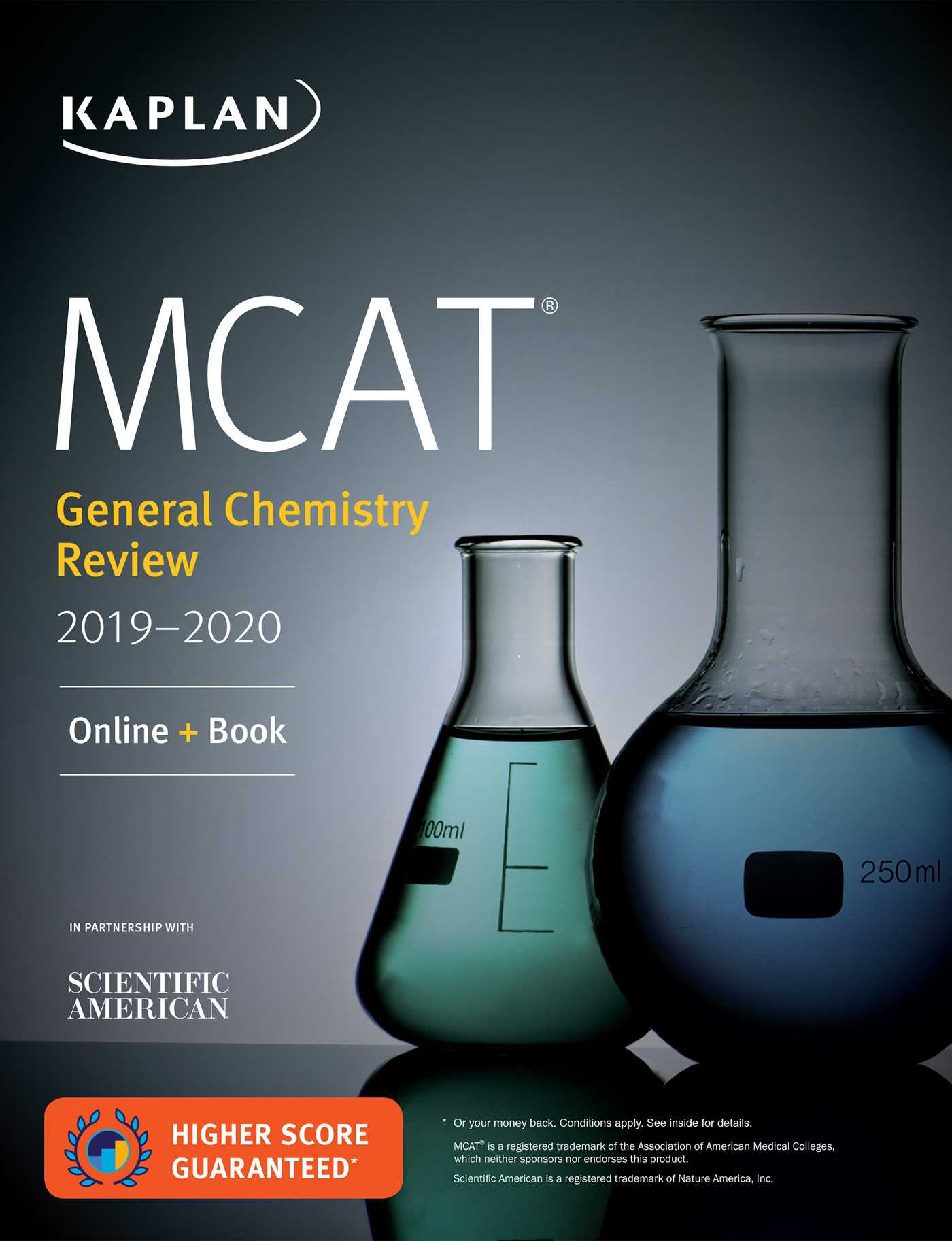 Book Cover Image (jpg): MCAT General Chemistry Review 2019-2020