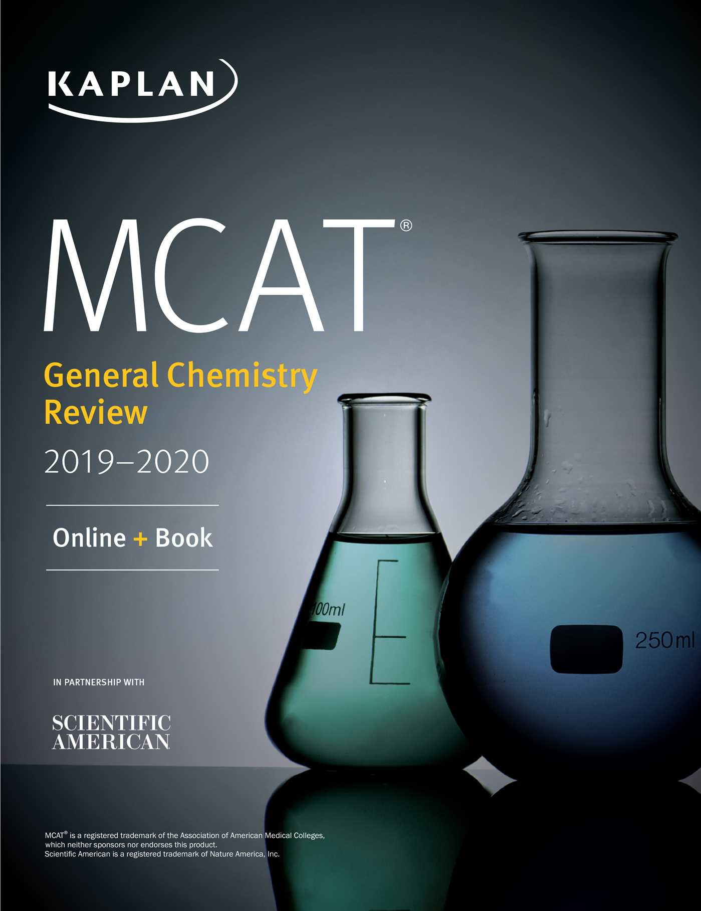 MCAT General Chemistry Review 2019-2020 eBook by Kaplan Test