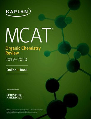 MCAT Organic Chemistry Review 2019-2020 eBook by Kaplan Test Prep