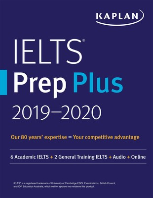 IELTS Prep Plus 2019-2020 | Book by Kaplan Test Prep | Official