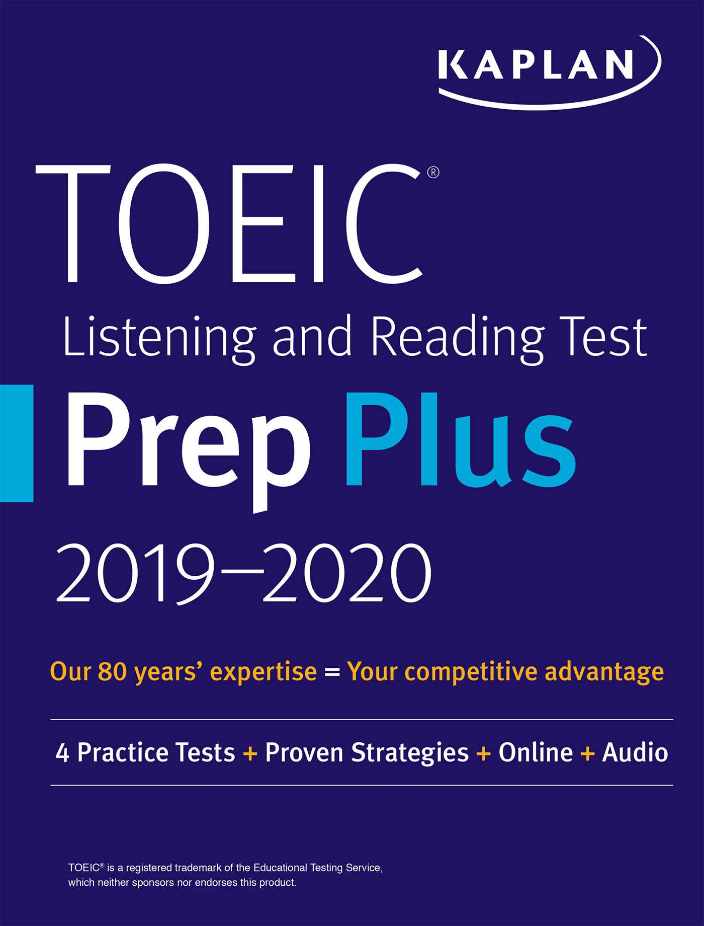 Toeic Listening And Reading Test Prep Plus 2019 2020 Book By