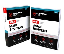 GRE Math & Verbal Strategies Set