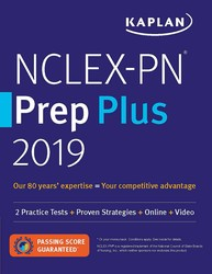 NCLEX-PN Prep Plus 2019