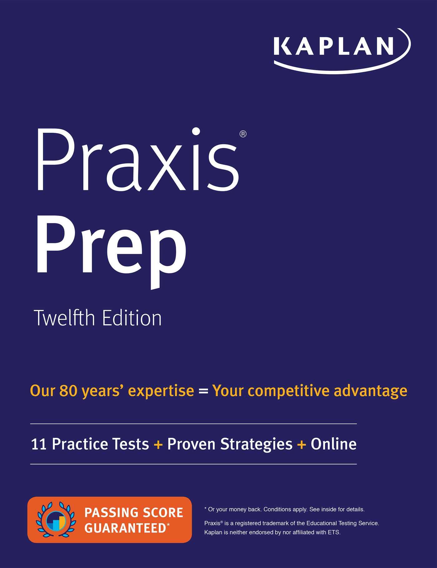 Book Cover Image (jpg): Praxis Prep
