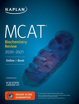 MCAT Biochemistry Review 2020-2021 | Book by Kaplan Test