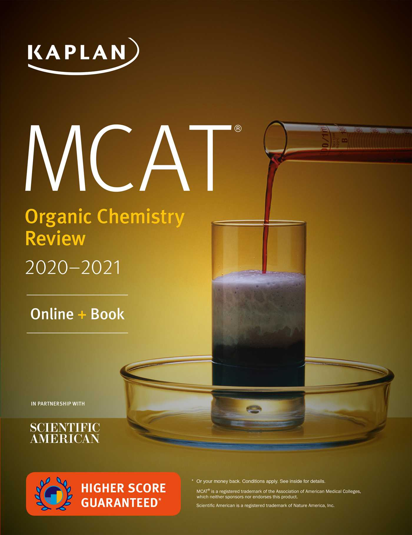 MCAT Organic Chemistry Review 2020-2021 | Book by Kaplan