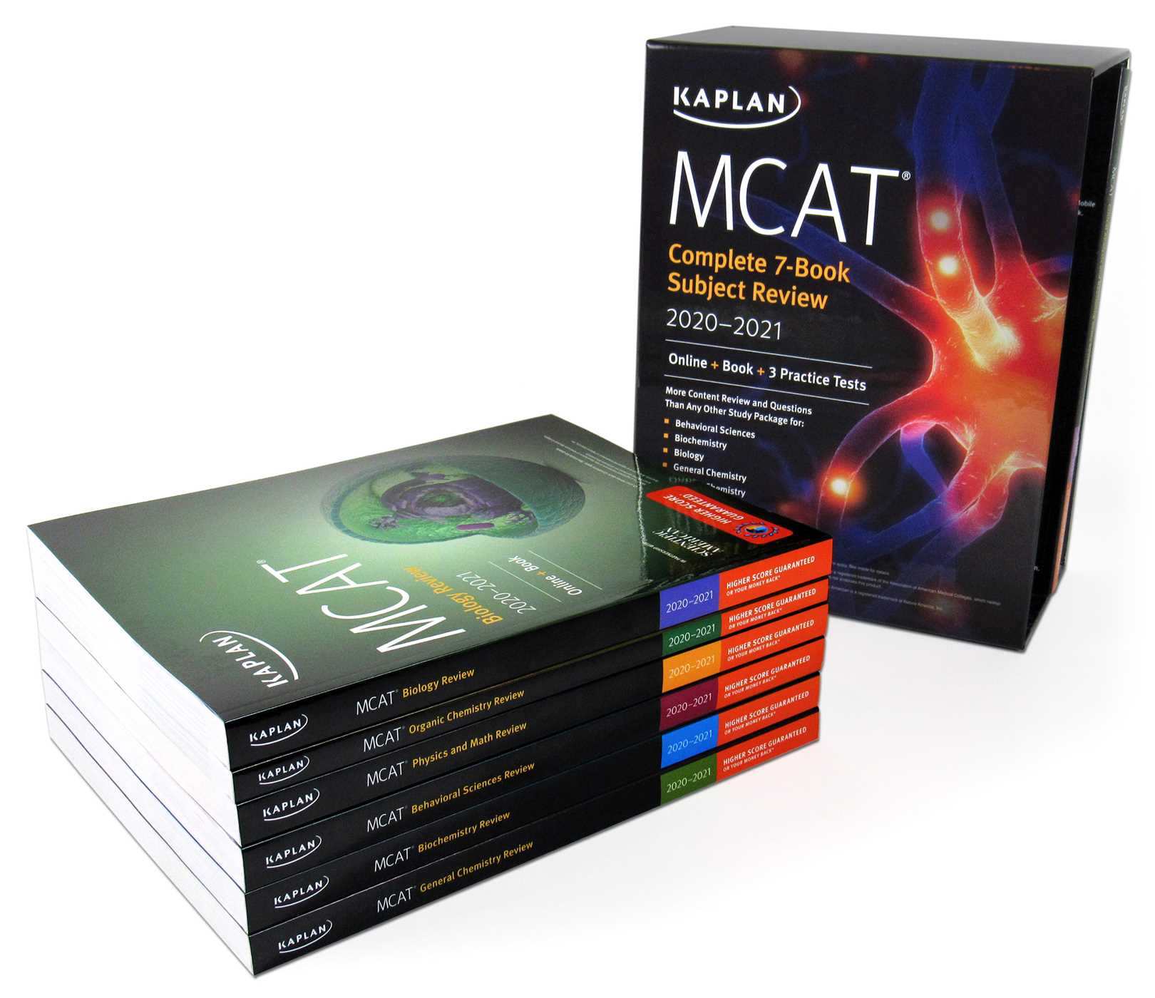 MCAT Complete 7-Book Subject Review 2020-2021 | Book by