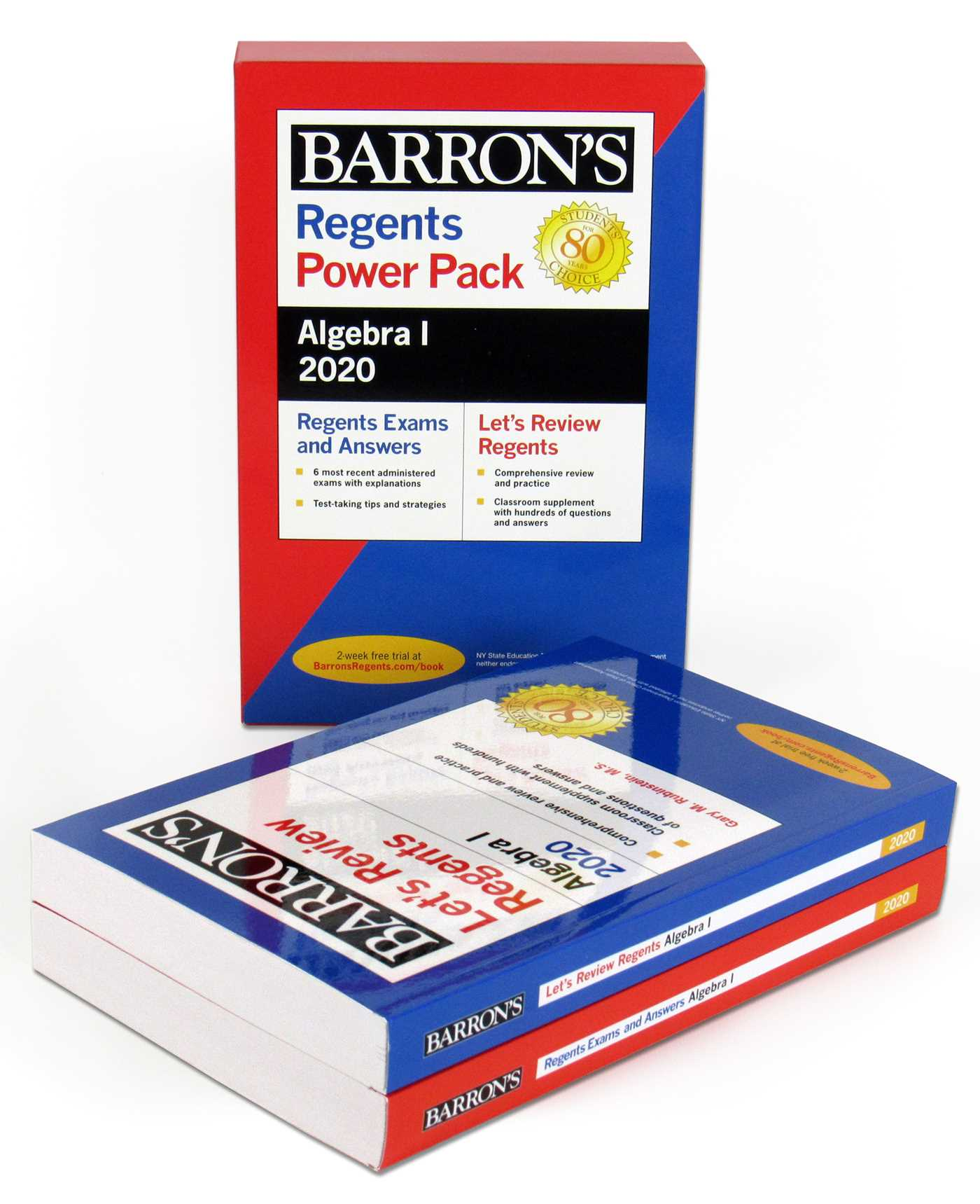 Regents Algebra I Power Pack 2020   Book by Gary M