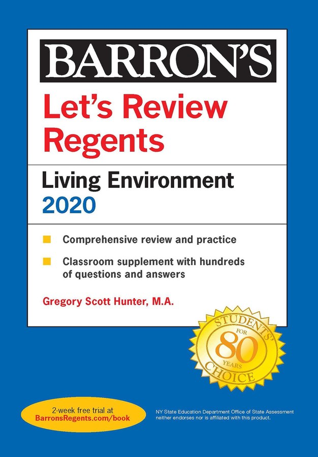 Let's Review Regents: Living Environment 2020 | Book by ...