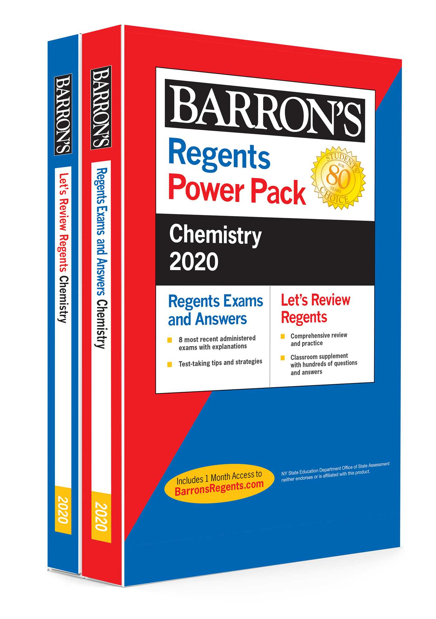 Regents Chemistry--Physical Setting Power Pack 2020 | Book
