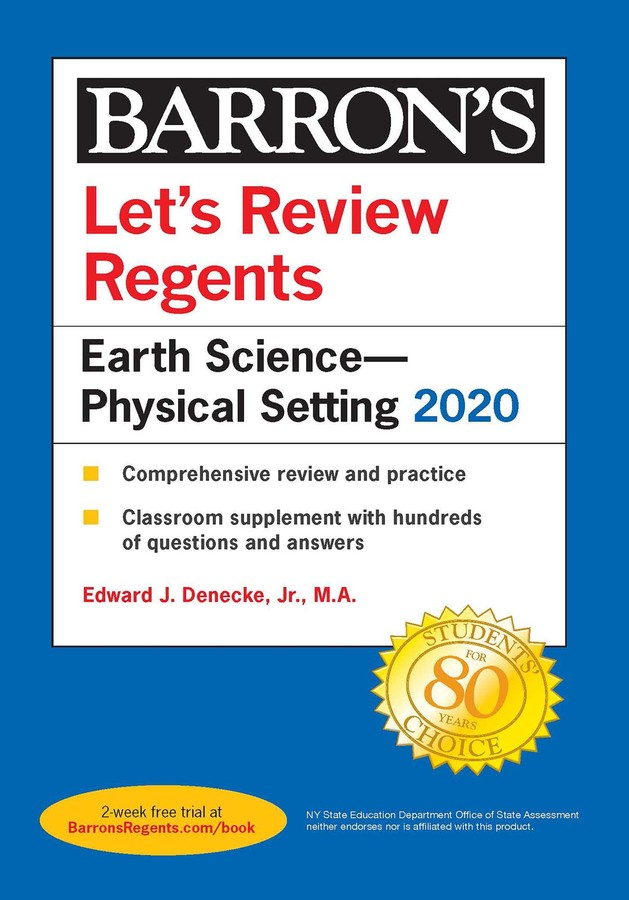 Let's Review Regents: Earth Science--Physical Setting 2020 ...