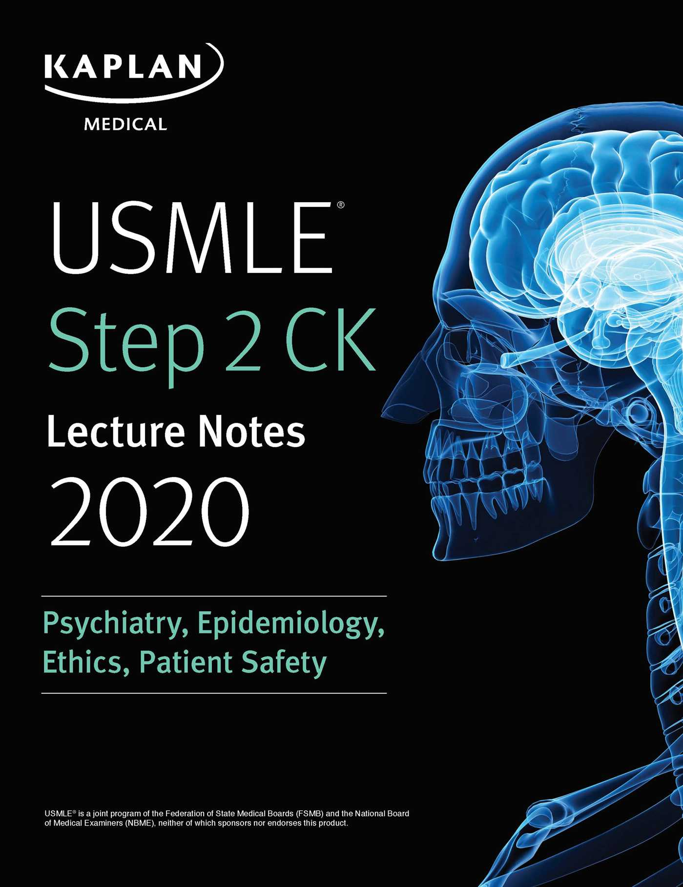 USMLE Step 2 CK Lecture Notes 2020: Psychiatry, Epidemiology