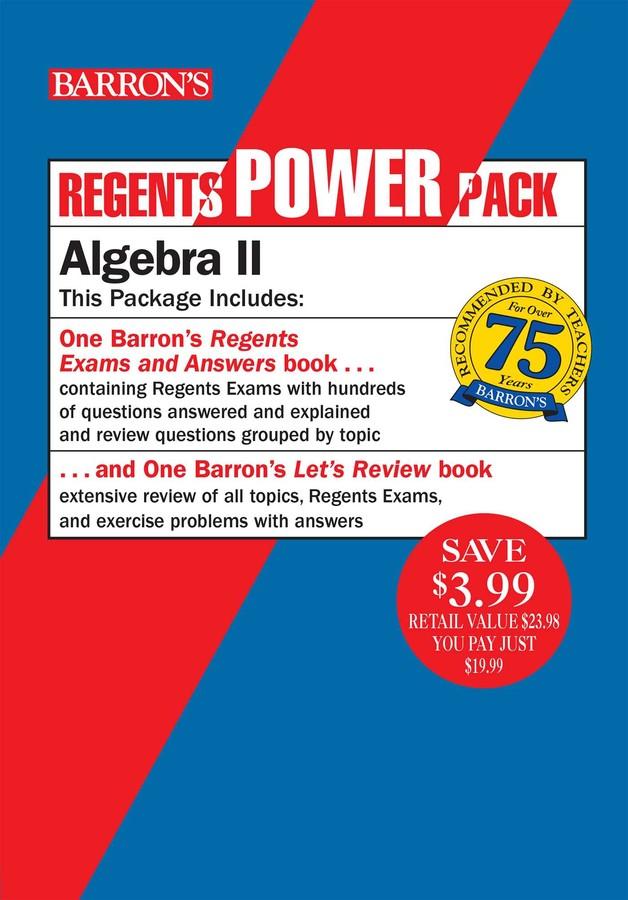 Regents Algebra II Power Pack | Book by Gary M  Rubinstein