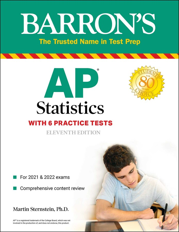 Ap Statistics Book By Martin Sternstein Ph D Official Publisher Page Simon Schuster