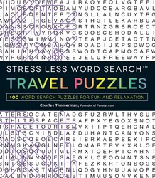 Stress Less Word Search - Travel Puzzles