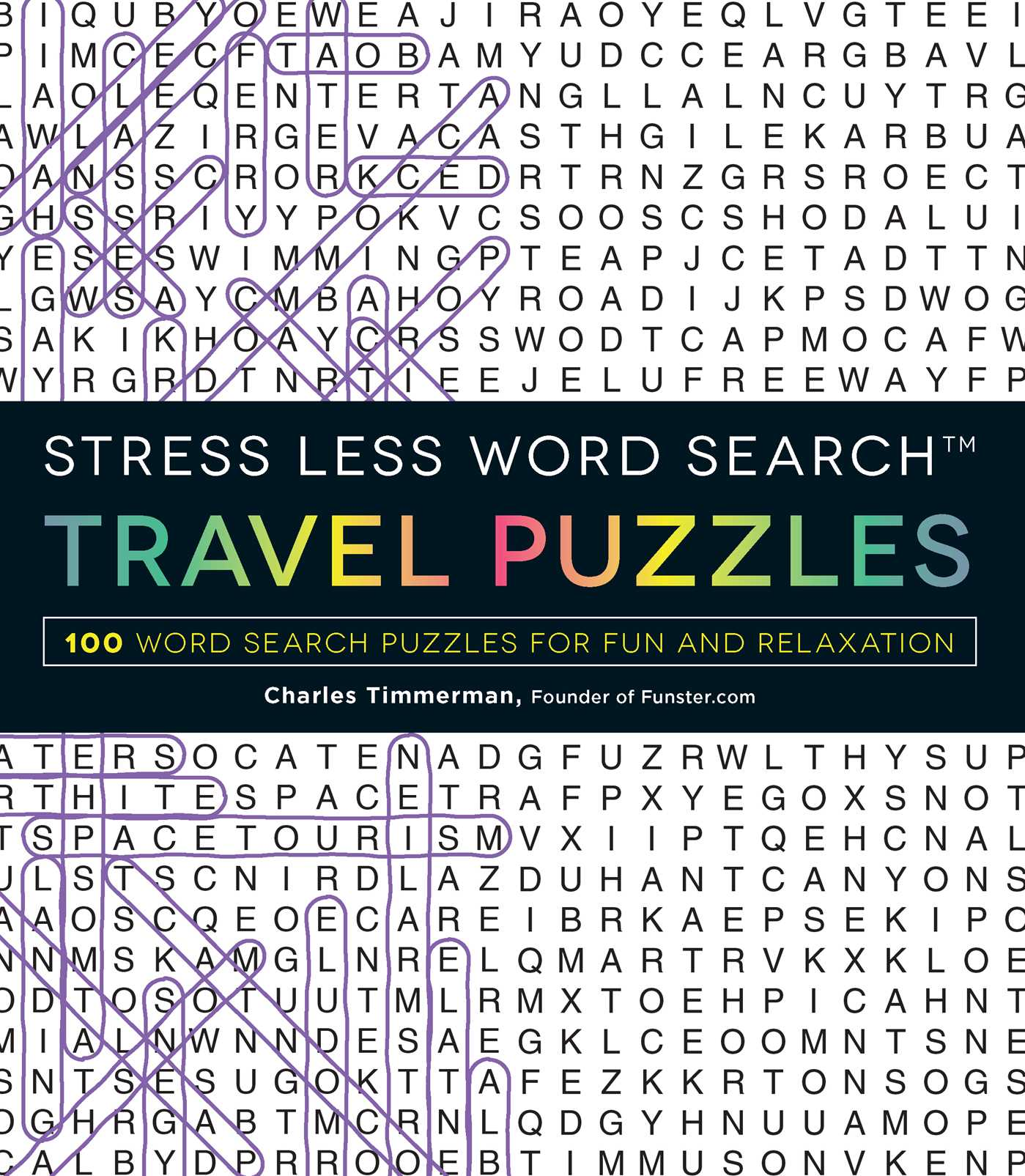 Stress less word search travel puzzles 9781507200681 hr