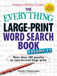 The Everything Large-Print Word Search Book, Volume 12