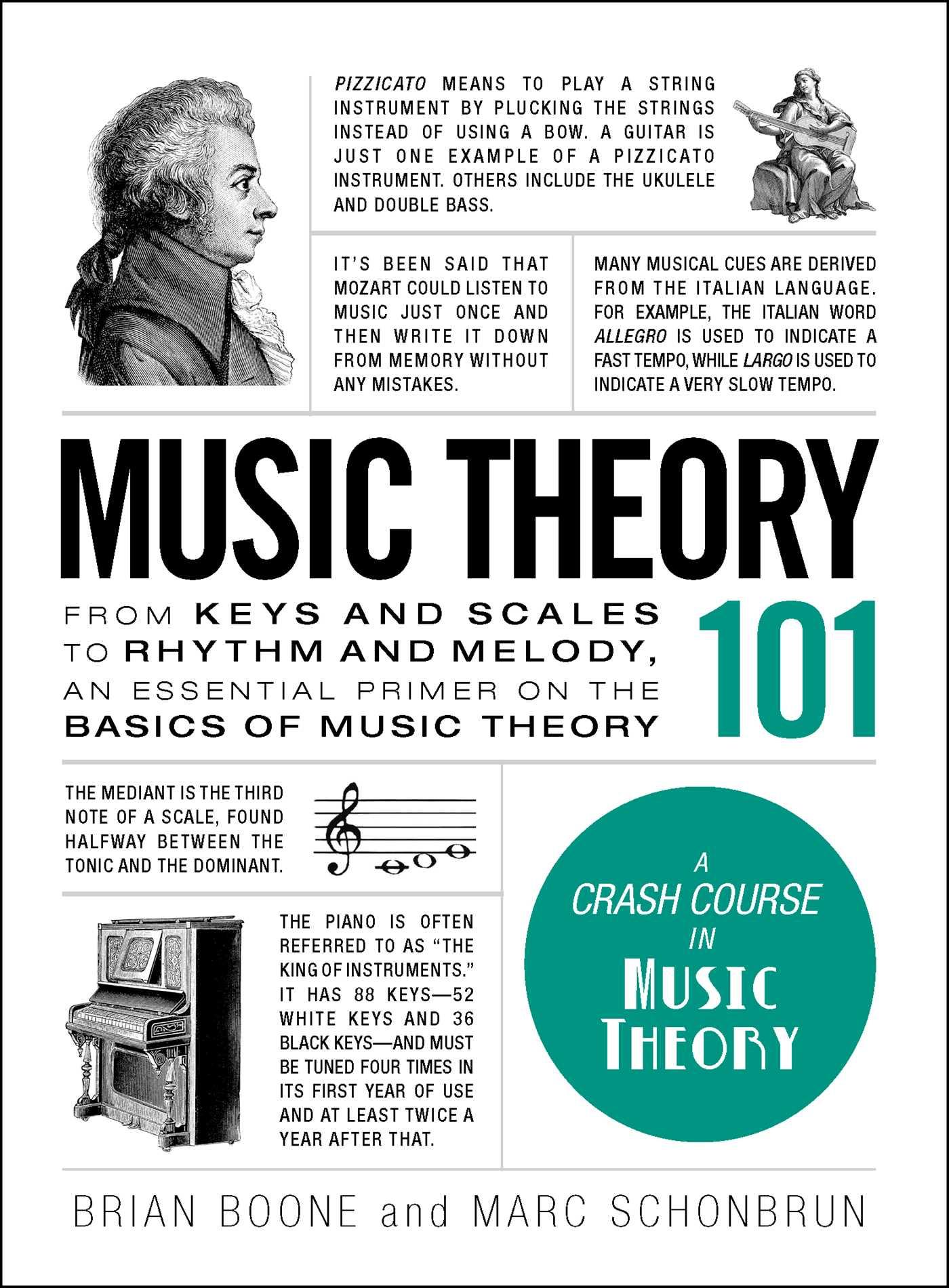 theory music 101 brian boone schonbrun marc books basics rhythm melody adams scales primer