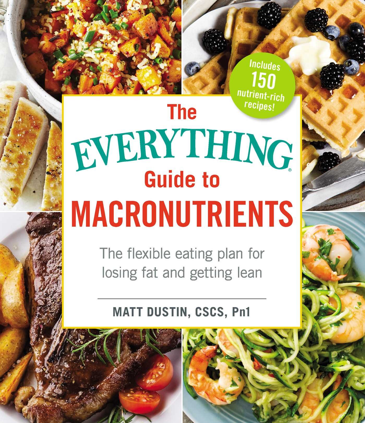 The everything guide to macronutrients 9781507204160 hr
