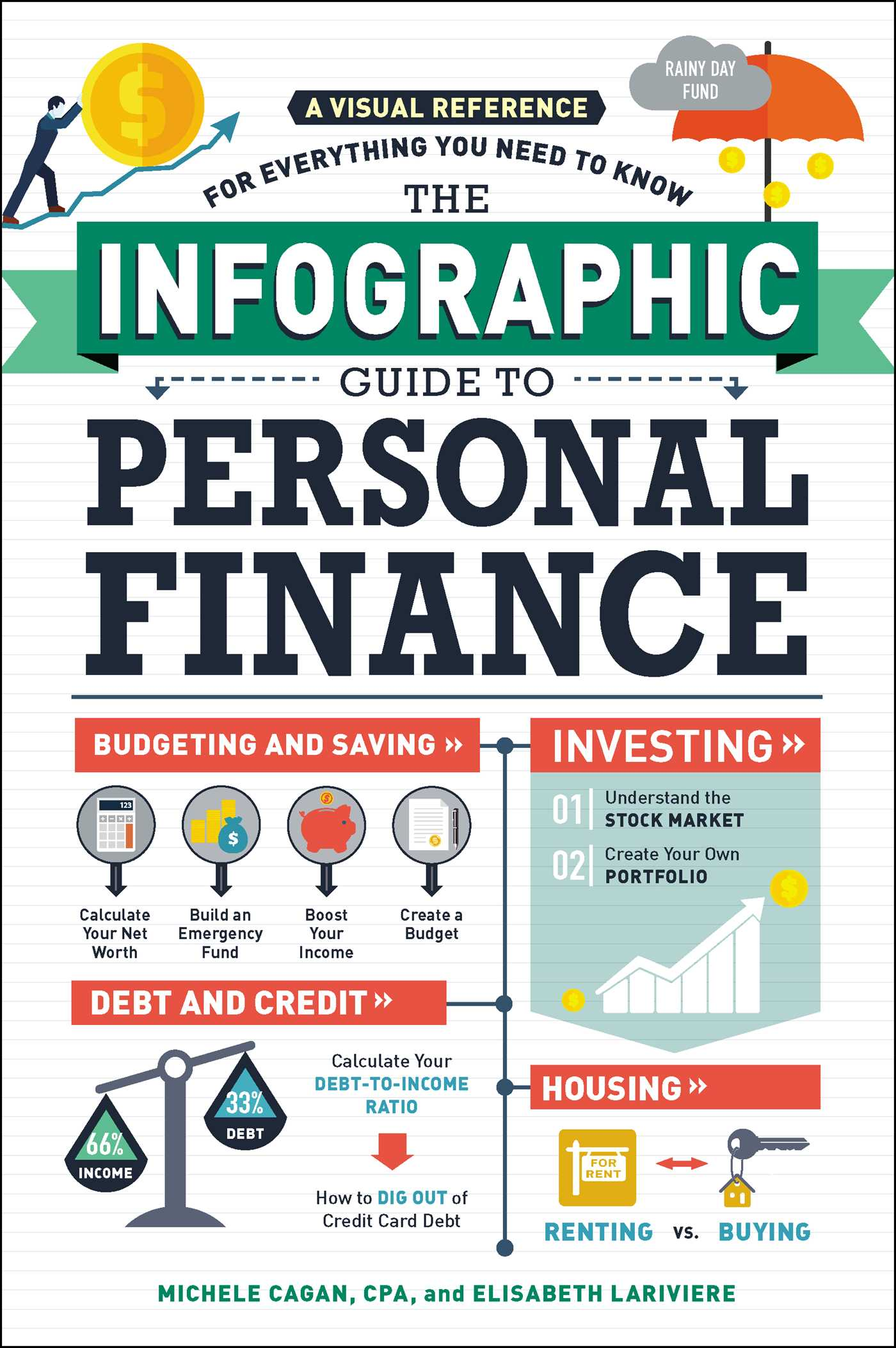 the infographic guide to personal finance book by michele cagan