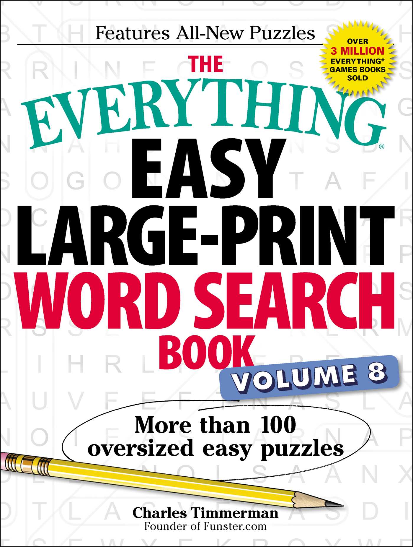 picture regarding Free Printable Extra Large Print Word Search titled The Something Uncomplicated Superior-Print Term Seem E book, Total 8
