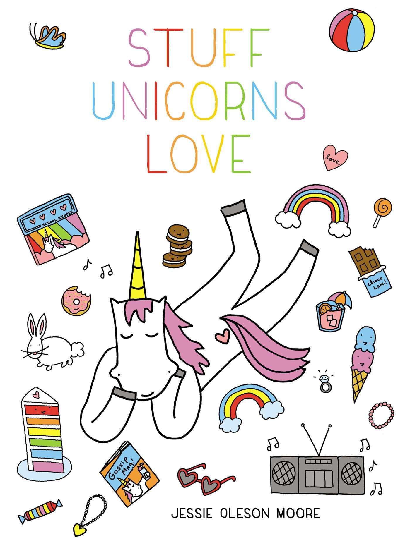 Stuff unicorns love 9781507205709 hr