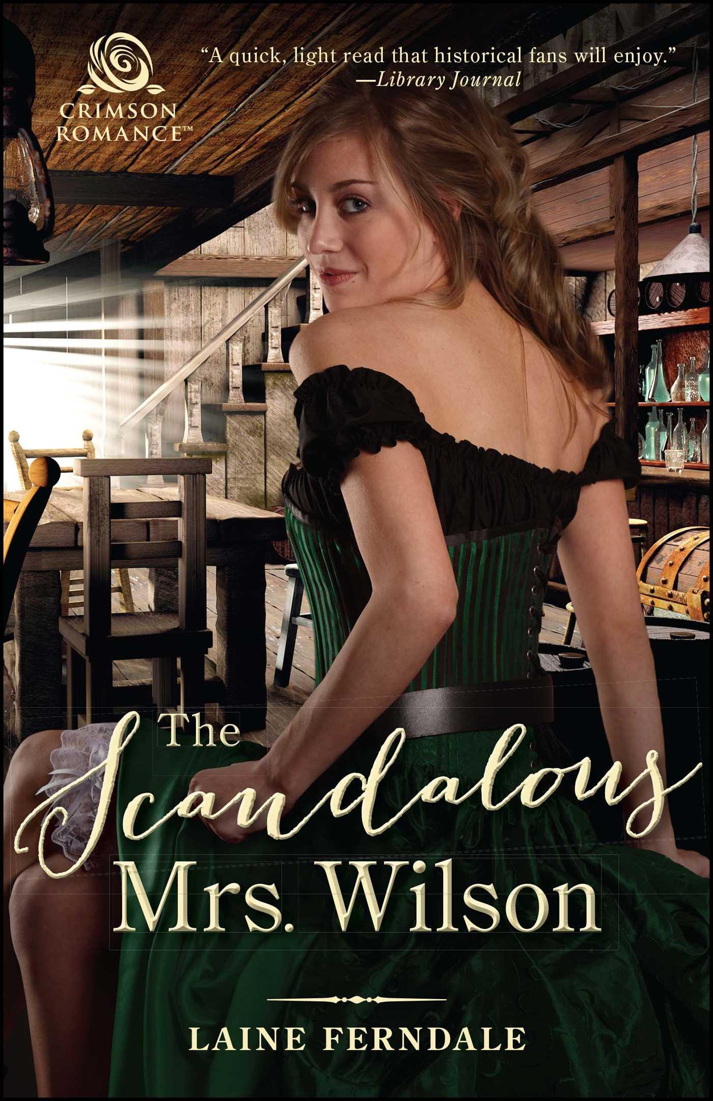 The scandalous mrs wilson 9781507206249 hr